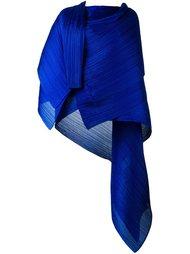 объемный асимметричный платок в рубчик Pleats Please By Issey Miyake
