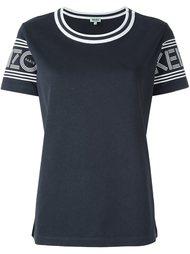 футболка с контрастной окантовкой  Kenzo