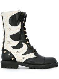 ботинки в стиле милитари  Fausto Puglisi