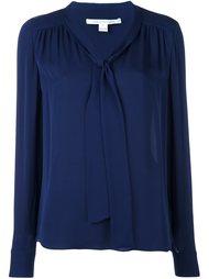 блузка с завязками на шее Diane Von Furstenberg