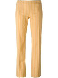 брюки в полоску Romeo Gigli Vintage