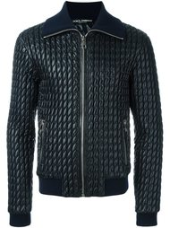 стеганая куртка-бомбер Dolce & Gabbana