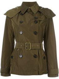 двубортная куртка  Burberry Brit