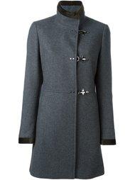 пальто с контрастными манжетами  Fay