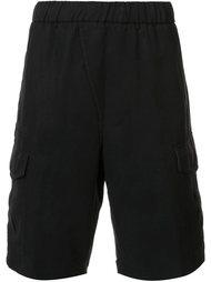 шорты с накладными карманами Vince
