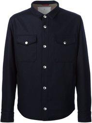 куртка-рубашка с нагрудными карманами  Brunello Cucinelli