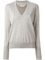 свитер с многослойным эффектом Maison Margiela