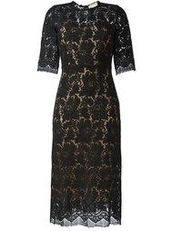 кружевное платье миди Erika Cavallini