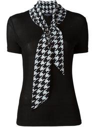 блузка с шарфом Salvatore Ferragamo
