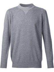 twin crew neck jumper Sacai