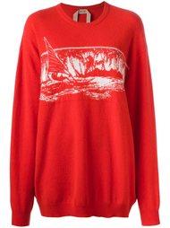 трикотажный свитер 'landscape' Nº21