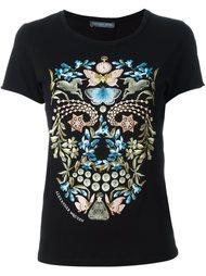 футболка с принтом 'Obsesson Skull' Alexander McQueen