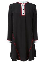 расклешенное короткое платье Kenzo