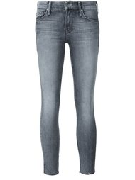 cropped skinny jeans Mother