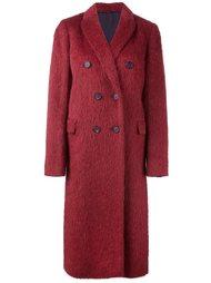 двубортное пальто  Brunello Cucinelli