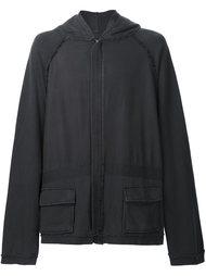oversized hooded jacket Haider Ackermann