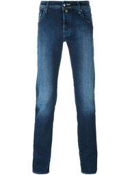 джинсы кроя скинни   Jacob Cohen