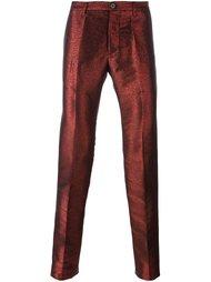брюки с отблеском  Christian Pellizzari