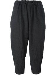 укороченные брюки с эластичным поясом Comme Des Garçons Comme Des Garçons