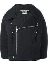 объемная байкерская куртка на молнии Junya Watanabe Comme Des Garçons
