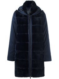 пальто-пуховик со съемными рукавами Guy Laroche Vintage