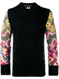 свитер с контрастными рукавами  Comme Des Garçons Homme Plus