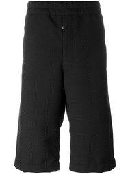 шорты с фактурным клетчатым узором Alexander McQueen