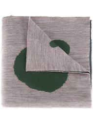шарф с принтом в горох Kolor