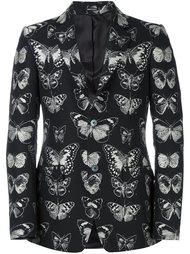блейзер с принтом бабочек Alexander McQueen