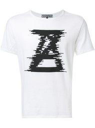 футболка с логотипом 'Noise'  Anrealage