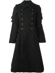 пальто в стиле милитари  Comme Des Garçons