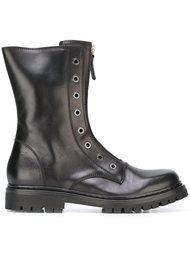 ботинки в стиле милитари  Diesel Black Gold