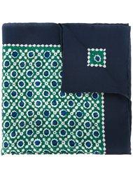 карманный платок с геометрическим принтом Kiton