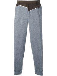 брюки лоскутного кроя Kolor