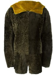 куртка из овчины с капюшоном Sylvie Schimmel