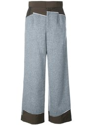 брюки с завышенной талией Kolor