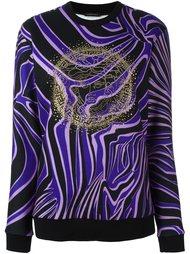 толстовка 'Zebra' с логотипом Versace