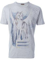 футболка с принтом волка Etro