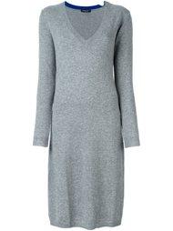 платье-свитер c V-образным вырезом   Twin-Set