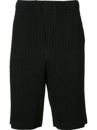 шорты со складками Homme Plissé Issey Miyake