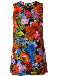топ с цветочным принтом   Dolce & Gabbana
