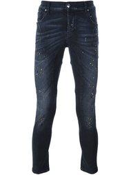 джинсы кроя скинни Les Hommes Urban