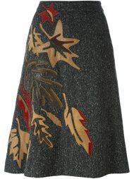 юбка с нашивками  Dolce & Gabbana Vintage