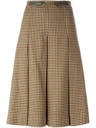 юбка в клетку  Céline Vintage