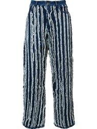 джинсы с необработанными краями  Y / Project