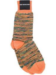 меланжевые носки Issey Miyake Men