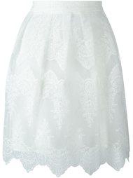 юбка с вышивкой  Blugirl