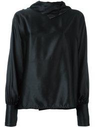 драпированная блузка  Gianfranco Ferre Vintage