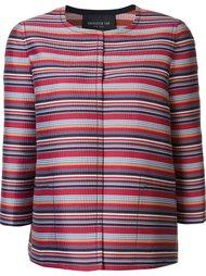 striped cropped jacket Lafayette 148