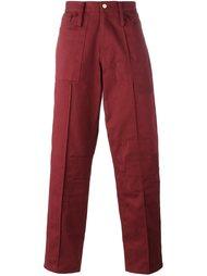 джинсы с заплатками Liam Hodges